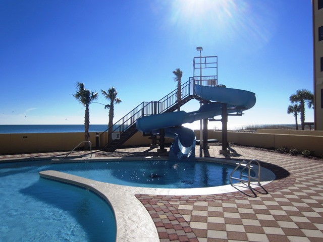 Orange Beach Condo Water Slide